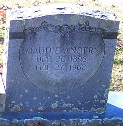 Maudie <i>Anders</i> Banther