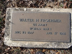 Walter Herman Froehmer