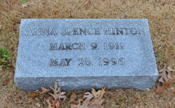 Anna <i>Spence</i> Hinton