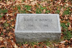 Mabel B <i>Harper</i> Boswell