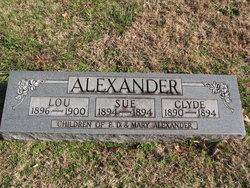 Sue Alexander
