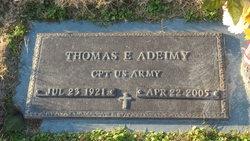 Thomas E Adeimy