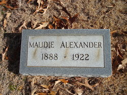 Maudie <i>Ray</i> Alexander