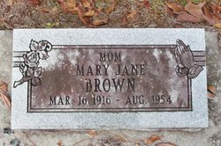Mary Jane Brown