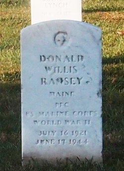 PFC Donald Willis Ramsey