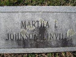 Martha Elizabeth <i>Johnson</i> Linville