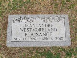 Jean Andre <i>Westmoreland</i> Plaisance