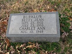 Betty Jean Burklow