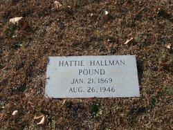 Hattie <i>Hallman</i> Pound