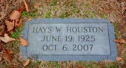 Hays <i>Wellons</i> Houston