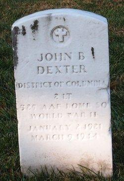 Lieut John B Dexter