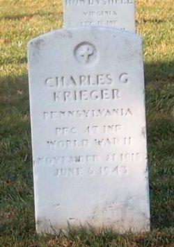 Charles G Krieger