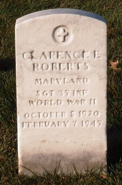 Sgt Clarence E Roberts