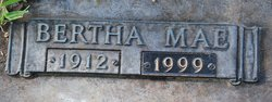Bertha Mae <i>Daniel</i> Bates