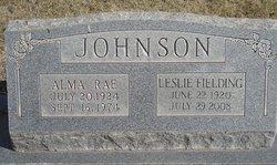 Alma Rae <i>Davis</i> Johnson