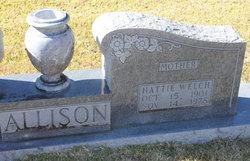 Hattie <i>Welch</i> Allison