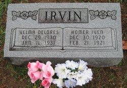 Homer Iven Irvin