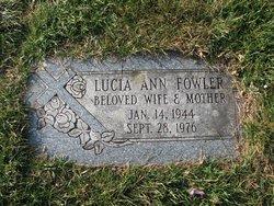 Lucia Ann <i>Jankowski</i> Fowler