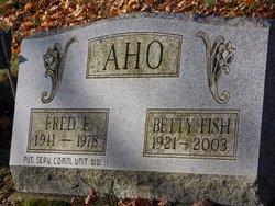 Betty J. <i>Fish</i> Aho