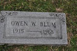 Owen W Blum