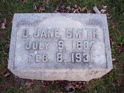 Delilah Jane Jennie <i>Moyer</i> Smith