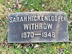 Sarah <i>Hickenlooper</i> Withrow