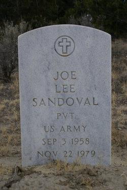 Pvt Joe Lee Sandoval