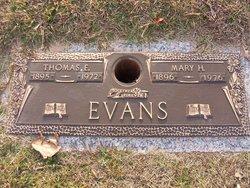 Mary Virginia <i>Harrison</i> Evans