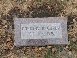 Dorothy <i>Fries</i> McCurdy