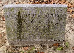 Mary Lugenia Genia <i>Mills</i> Roebuck