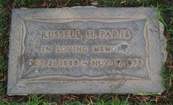 Russell H Paris