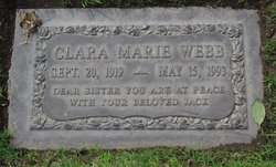 Clara Marie <i>Bramlett</i> Webb