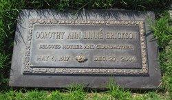 Dorothy Ann <i>Linne</i> Erickson