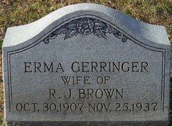 Erma <i>Gerringer</i> Brown