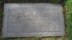 Mildred Faye <i>Patchin</i> Meeker