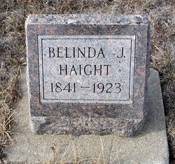 Belinda J <i>Robinson</i> Haight
