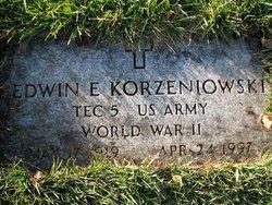 Edwin E Korzeniowski