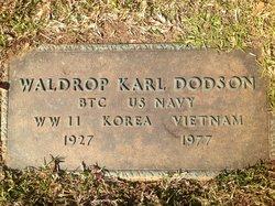 Waldrop Karl Dodson
