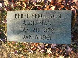 Beryl <i>Ferguson</i> Alderman