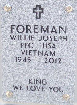 PFC Willie Joseph Foreman