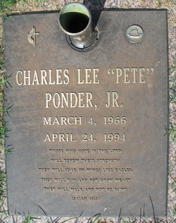Charles Lee Pete Ponder, Jr