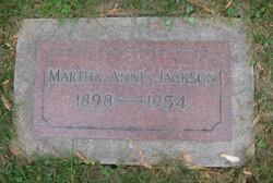 Martha Anne <i>Schmitz</i> Jackson