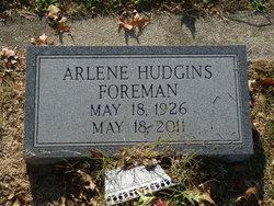 Arlene <i>Hudgins</i> Foreman