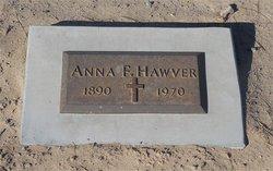 Anna F <i>Cawley</i> Hawver