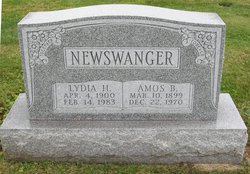 Amos B Newswanger