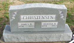 Bertha B <i>Hahn</i> Christensen