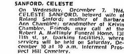 Celeste S. <i>Chrisman</i> Sanford