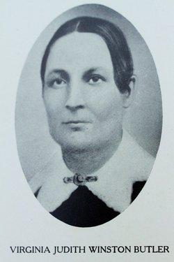 Virginia Judith <i>Winston</i> Butler