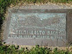Helmi <i>Aalto</i> Bach