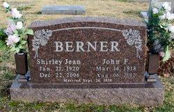 Shirley Jean <i>(Elmore)</i> Berner